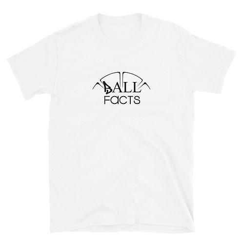 Short-Sleeve Ball Facts T-Shirt (Black on Light)