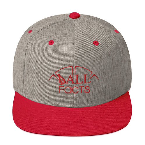 Red Edged Ball Facts Hat