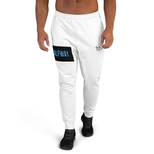 NOTHING HALFWAY Ball Facts White Men's Joggers