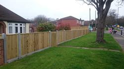 Fencing Watling Street Strood