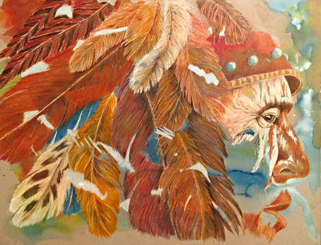 Sioux Headdress