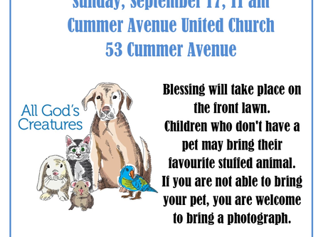 Pet Blessing at CAUC