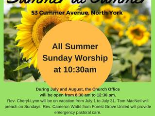 Summer at Cummer!