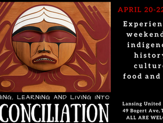 Listening, Learning and Living into Reconciliation