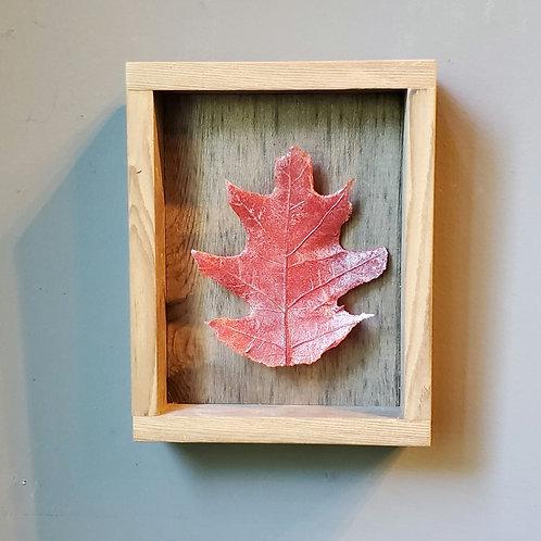 Red Oak Glass Leaf