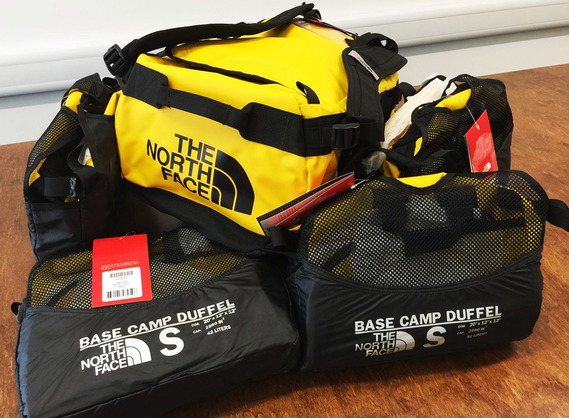 North Face Summit Series Bags