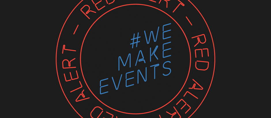 Silverback Crew make a show of 'red alert' on the #WeMakeEvents Manchester march.