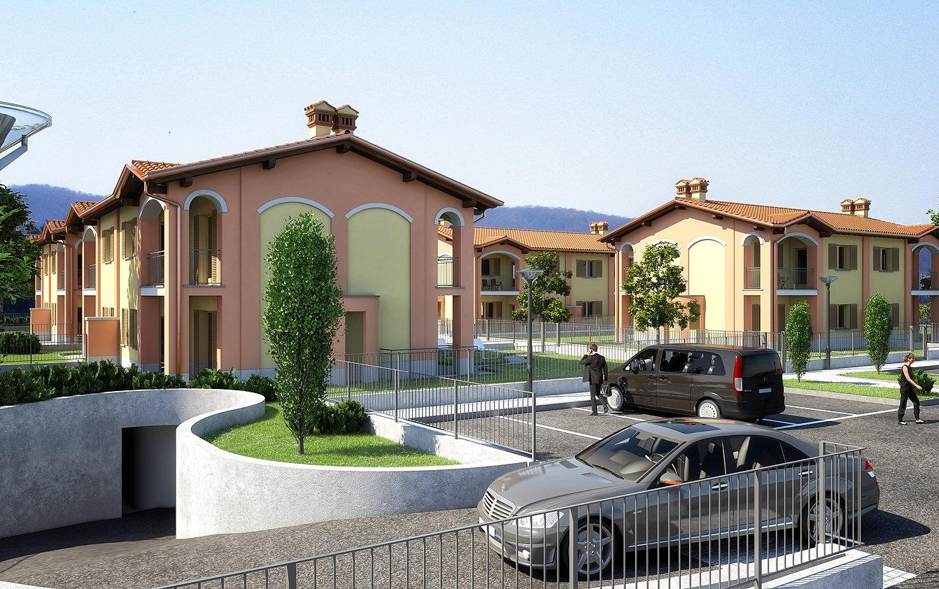 3D villa ticino