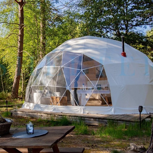 Geodesic Dome Tent - w/Installation