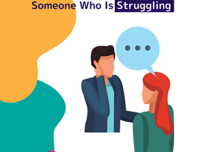 How to help someone you see struggling
