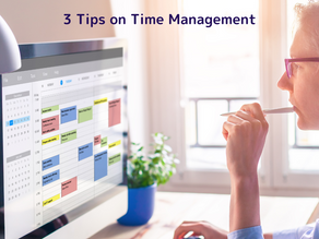 Stop Multitasking, it Reduces Productivity by up to 40%. Learn 3 Time Management Tips.