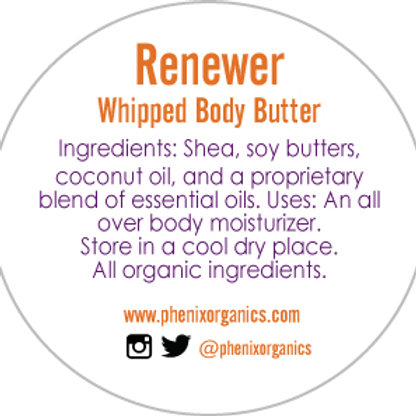 Renewer- Whipped Body Butter