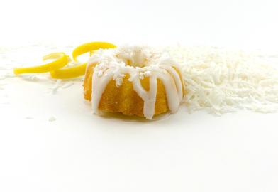 Lemon Coconut Mini Bundt