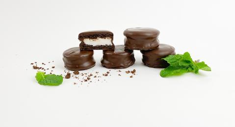 Dipped Chocolate Mint Patties