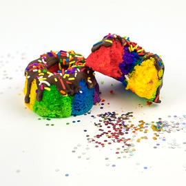 Pride Rainbow Mini Bundt