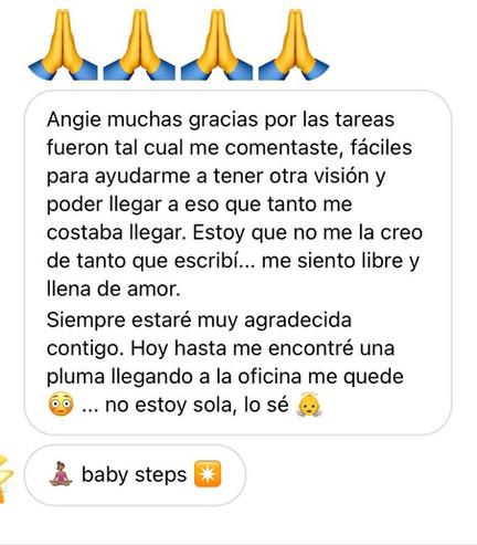 Testimonio Programa BABY STEPS