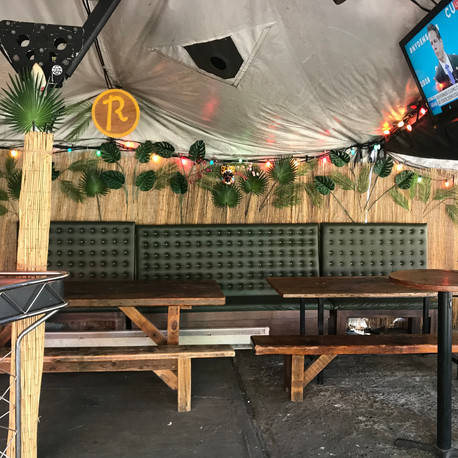 Art Direction for Roberta's Tiki Bar
