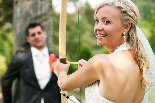 Hochzeitsevents Bogenschießen Discgolf A