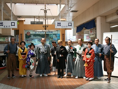 伊豆急下田駅までタイムスリップ!