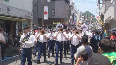 黒船祭 公式パレード5