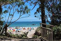 入田浜は多々戸浜の隣にあります。南国リゾート気分
