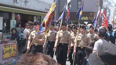 黒船祭 公式パレード4