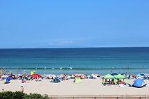 伊豆で一番大きな海水浴場です。9月も海水浴を楽しめます。