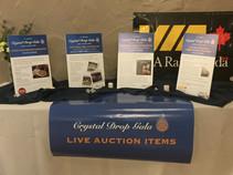 Live auction items.JPG