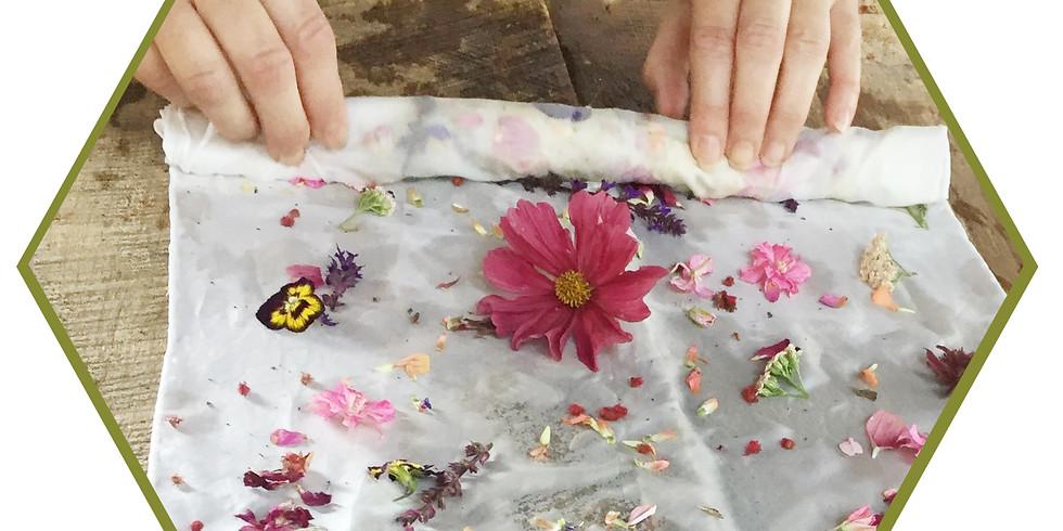 Eco Dye Purse Scarf