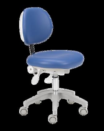 A‑dec_421_doctors_stool_with_sky_blue_