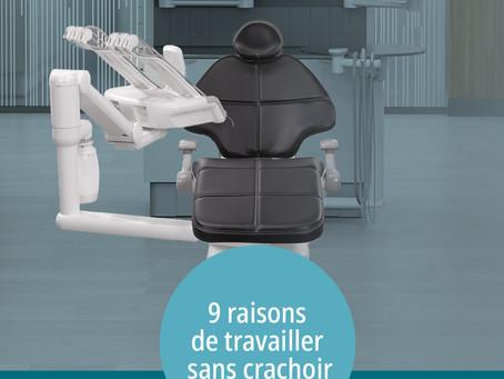 A-DEC VOUS PRESENTE 9 RAISONS DE TRAVAILLER SANS CRACHOIR