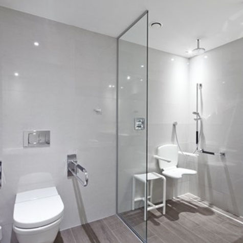 Badkamer aanpassingen douchestoel