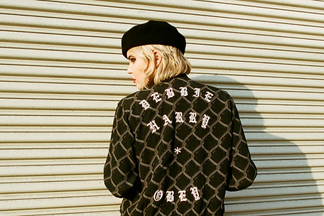 Debbie Harry x Obey Clothing Campaign