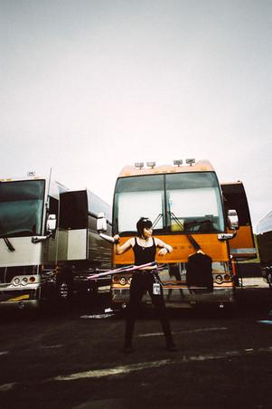 Backstage with Joan Jett