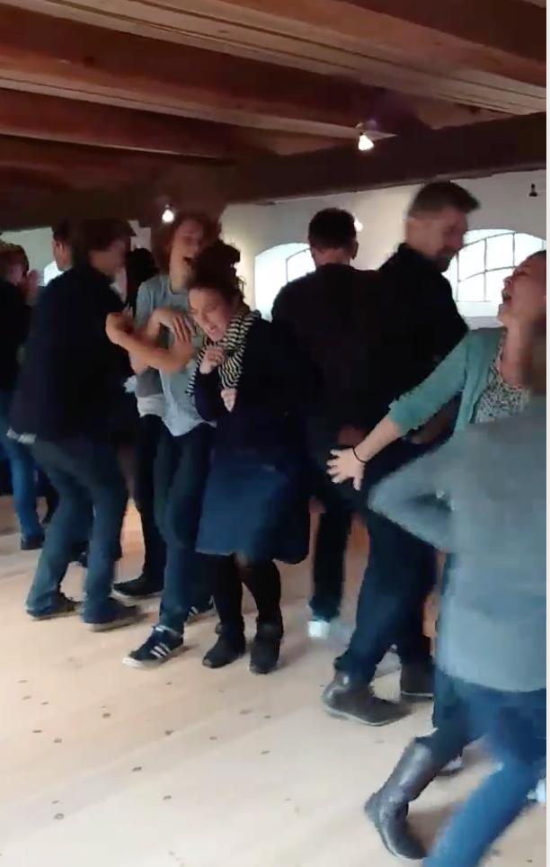 Familiefest i Fredensborg - Rækkedans