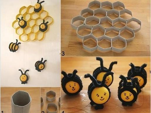 Une ruche et ses petites abeilles Home Made...
