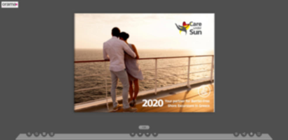 Shore Excursions Multipage Brochure