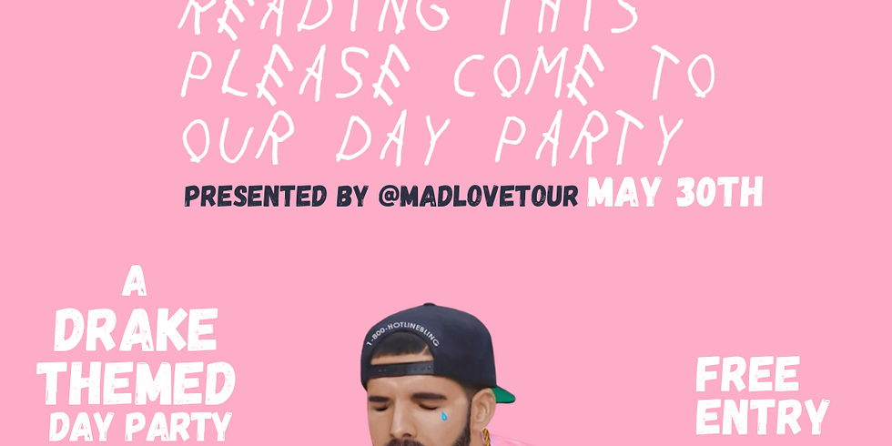 """""""CREW LOVE"""" A Drake Themed Day Party"""