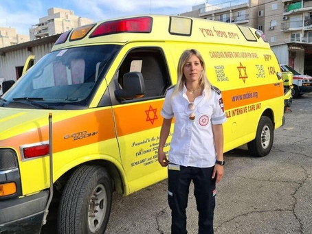 Vite da volontari#08_I paramedici di MDA  in prima linea: Hadas Finkel