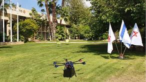 MDA sperimenta i droni per il trasporto di plasma