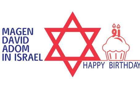 Buon Compleanno Magen David Adom!