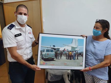 La ICRC commemora i 90 anni di MDA con un regalo speciale