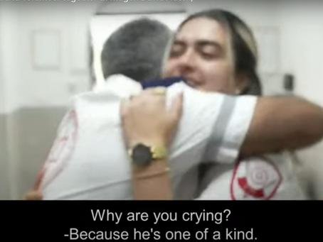 Un video da Lod: la coesistenza viaggia su un'ambulanza