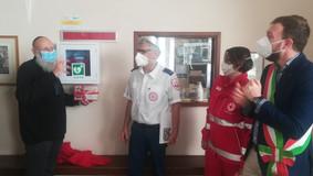 Attivato il defibrillatore di MDA Italia alla Comunità Ebraica di Casale