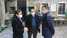 Attivato il defibrillatore alla Comunita' di Venezia