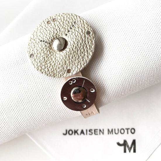JOKAISEN MUOTO 革知るこども ワークショップ dual time watch ヨカイセンムオト ミンナノカタチ 革 leather レザー 腕時計 2カ国
