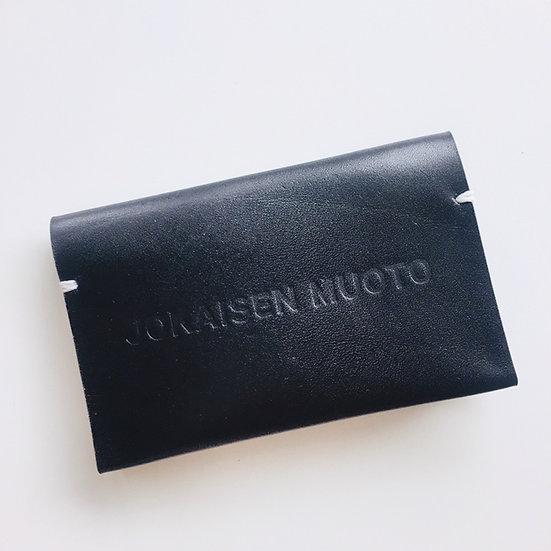 JOKAISEN MUOTO jokaisenmuoto cardcase カードケース ヨカイセンムオト 黒 black キップ 革