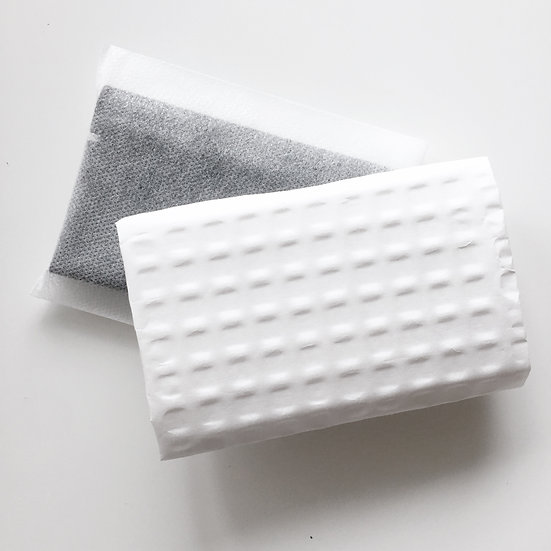 jokaisenmuoto waffle wrapping ヨカイセンムオト ワッフルラッピング ワッフル 白 white