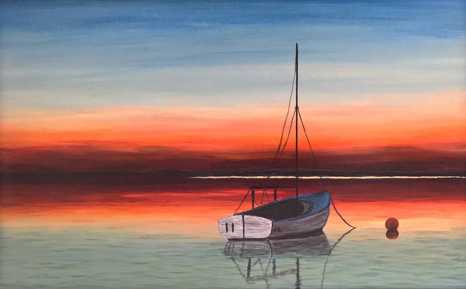 Sunset Sailing - ECCE Art