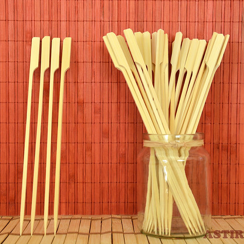 240 x 4 x 4 mm Teppo Bamboo Skewers